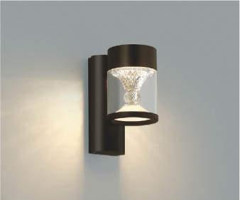 【最安値挑戦中!最大34倍】コイズミ照明 AU45496L ポーチライト 壁 ブラケットライト LED一体型 電球色 防雨型 ブラウン [(^^)]