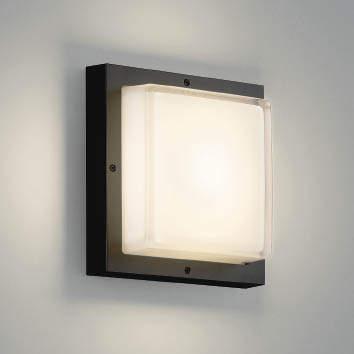 【最安値挑戦中!最大34倍】コイズミ照明 AU46391L ポーチライト 壁 ブラケットライト LED一体型 電球色 防雨・防湿型 ブラック [(^^)]