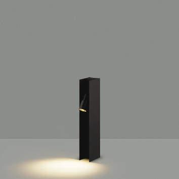 【最安値挑戦中!最大25倍】コイズミ照明 AU49056L LEDガーデンライト H型ポール灯 LED一体型 電球色 防雨型 白熱球40W相当 ブラック