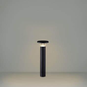 【最安値挑戦中!最大25倍】コイズミ照明 AU49066L LEDガーデンライト ポールライト LED付 電球色 防雨型 表ネジ式 ブラック