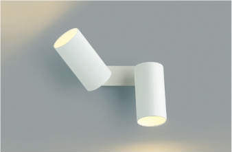 【最安値挑戦中!最大34倍】コイズミ照明 AB40613L 可動ブラケット 白熱球100W×2灯相当 LED付 電球色 マットファインホワイト [(^^)]