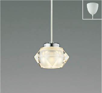 【最安値挑戦中!最大25倍】コイズミ照明 AP38352L ペンダントライト Twinly 調光 フランジタイプ 白熱球60W相当 LED一体型 電球色 クリスタルガラス