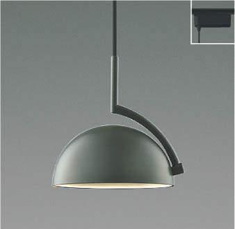 【最安値挑戦中!最大25倍】コイズミ照明 AP42128L ペンダント d-pendantディーペンダント 白熱球60W相当 プラグタイプ LED一体型 電球色 チャコールグレー