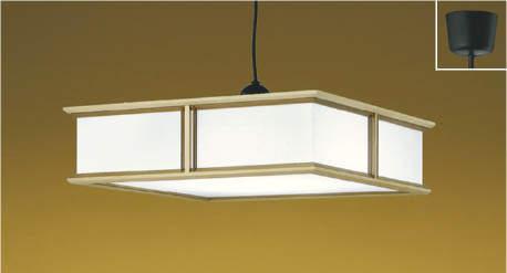 【最安値挑戦中!最大25倍】コイズミ照明 AP43079L 和風照明 ペンダント 調光・調色 リモコン付 フランジ ~8畳 LED一体型 白木 和紙入