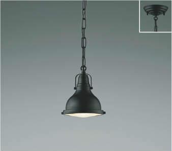 【最安値挑戦中!最大25倍】コイズミ照明 AP45538L ペンダント フランジタイプ 白熱球60W相当 LED付 電球色 黒色塗装