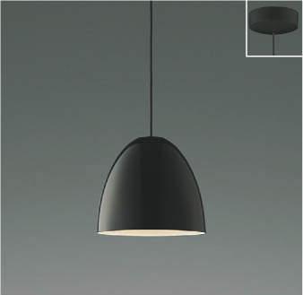 【最安値挑戦中!最大25倍】コイズミ照明 AP46940L ペンダント LED一体型 電球色 フランジ 傾斜天井対応 黒色アクリル