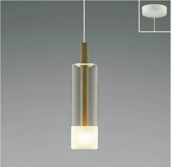【最安値挑戦中!最大25倍】コイズミ照明 AP46949L ペンダント LED一体型 電球色 フランジ 傾斜天井取付可能 ウォールナット