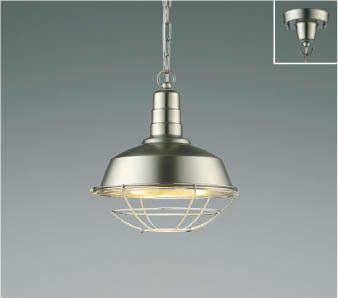 【最安値挑戦中!最大25倍】コイズミ照明 AP47855L ペンダント LEDランプ交換可能型 電球色 フランジ ニッケルメッキツヤ消し