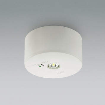 【最安値挑戦中!最大24倍】コイズミ照明 AR46502L1 LED非常用照明器具 LED一体型 昼白色 低天井小空間(~3m) 13W 充電モニタ付 自己点検機能付 φ155 [(^^)]