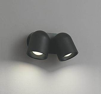 【最大44倍お買い物マラソン】オーデリック OS256396 スポットライト LED一体型 白熱灯60W 2灯相当 電球色 非調光 ブラック