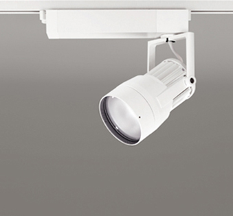 【最安値挑戦中!最大24倍】オーデリック XS411157 スポットライト スプレッド配光 LED一体型 C3500 CDM-T70W相当 温白色 プラグタイプ 非調光 ホワイト [(^^)]