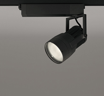 【最大44倍スーパーセール】オーデリック XS411190 スポットライト スプレッド配光 LED一体型 C2700 CDM-T70W相当 電球色 プラグタイプ 非調光 ブラック