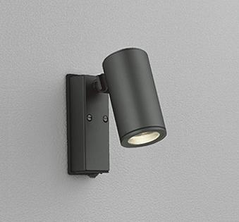 【最安値挑戦中!最大24倍】オーデリック OG254549 エクステリアスポットライト LED一体型 電球色タイプ 人感センサ JDR75W相当 ブラック [∀(^^)]