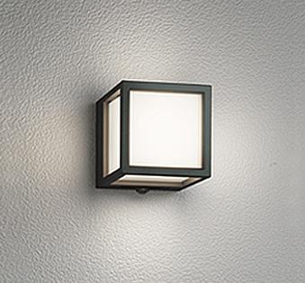 【最安値挑戦中!最大25倍】オーデリック OG254611 エクステリアポーチライト LED一体型 人感センサ 白熱灯60W相当 電球色 ブラック