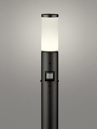 【最安値挑戦中!最大24倍】オーデリック OG254649LC(ランプ別梱包) ガーデンライト LED 電球色 人感センサ 防雨型 黒色 [∀(^^)]