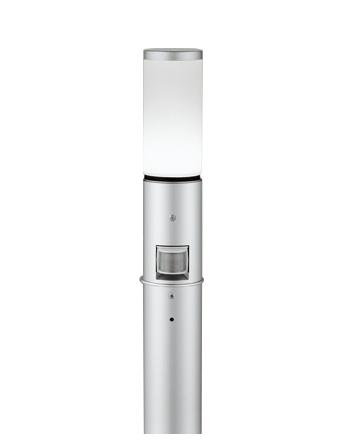【最安値挑戦中!最大25倍】オーデリック OG254650NC(ランプ別梱包) ガーデンライト LED 昼白色 人感センサ 防雨型 マットシルバー