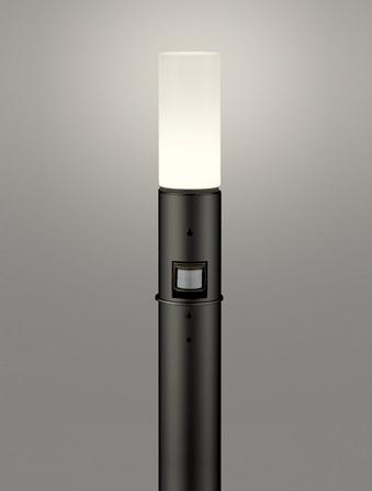 【最安値挑戦中!最大25倍】オーデリック OG254661LC(ランプ別梱包) ガーデンライト LED 電球色 人感センサ 防雨型 黒色 [∀(^^)]