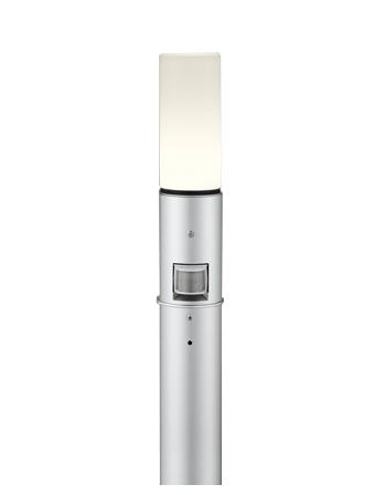 【最安値挑戦中!最大25倍】オーデリック OG254662LC(ランプ別梱包) ガーデンライト LED 電球色 人感センサ 防雨型 マットシルバー