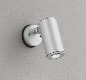 【最安値挑戦中!最大25倍】オーデリック OG254849 エクステリアスポットライト LED一体型 昼白色 φ88 長180 ミディアム配光 防雨型 シルバー