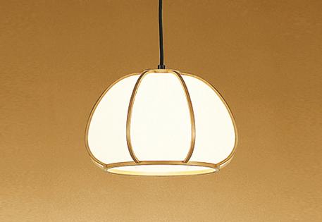 【最安値挑戦中!最大25倍】照明器具 オーデリック OP050102LD 和風ペンダントライト LEDランプ 電球色タイプ