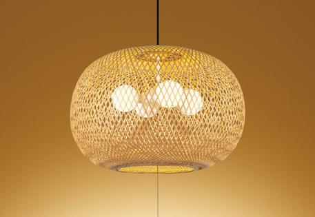 【最安値挑戦中!最大25倍】照明器具 オーデリック OP052067LD 和風ペンダントライト LEDランプ 電球色タイプ ~6畳
