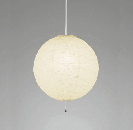 【最安値挑戦中!最大25倍】照明器具 オーデリック OP052287LDW 和風ペンダントライト LED 電球色 白コード 白熱灯100W×2灯相当