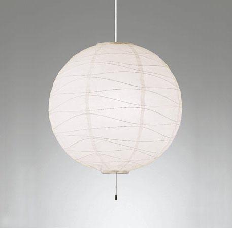 【最安値挑戦中!最大25倍】オーデリック OP052387NDW(2梱包) 和風照明 LED電球一般形12.2W×4 昼白色 ~8畳 非調光 引掛シーリング 和紙 白コード