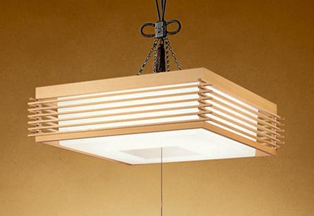 【最安値挑戦中!最大25倍】照明器具 オーデリック OP252070P1 和風ペンダントライト LED一体型 段調光タイプ 電球色 ~8畳