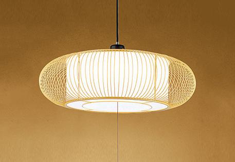 【最安値挑戦中!最大25倍】照明器具 オーデリック OP252171P1 和風ペンダントライト LED一体型 段調光タイプ 昼白色 ~8畳