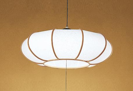 【最安値挑戦中!最大25倍】照明器具 オーデリック OP252175P1 和風ペンダントライト LED一体型 段調光タイプ 昼白色 ~8畳