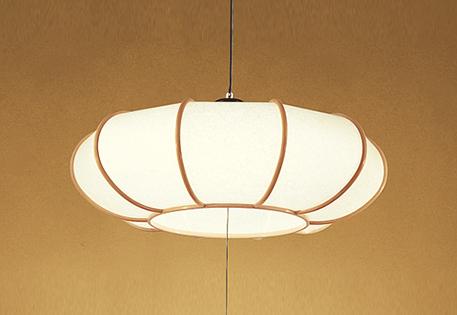 【最安値挑戦中!最大25倍】照明器具 オーデリック OP252176P1 和風ペンダントライト LED一体型 段調光タイプ 電球色 ~8畳