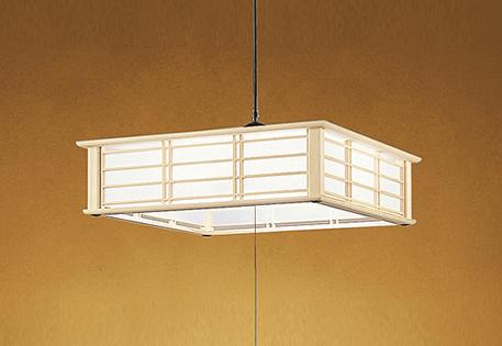 【最安値挑戦中!最大25倍】照明器具 オーデリック OP252194P1 和風ペンダントライト LED一体型 段調光タイプ 電球色 ~8畳
