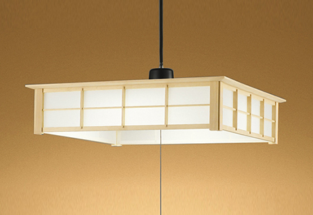 【最安値挑戦中!最大25倍】照明器具 オーデリック OP252362L 和風ペンダントライト LED一体型 段調光タイプ 電球色 ~12畳
