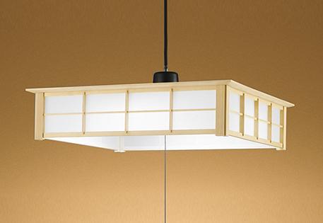 【最安値挑戦中!最大25倍】照明器具 オーデリック OP252362N 和風ペンダントライト LED一体型 段調光タイプ 昼白色 ~12畳