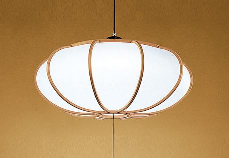 【最安値挑戦中!最大25倍】オーデリック OP252401 和風照明 LED一体型 電球色~昼光色 ~8畳 引掛シーリング 杉曲木 リモコン付属
