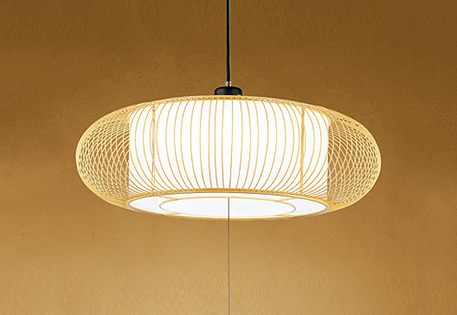 【最安値挑戦中!最大25倍】オーデリック OP252403 和風照明 LED一体型 電球色~昼光色 ~8畳 引掛シーリング 樹脂ヒゴ 和紙入 リモコン付属