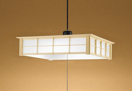 【最安値挑戦中!最大25倍】オーデリック OP252505N 和風ペンダントライト LED一体型 昼白色 段調光 白木 ~6畳