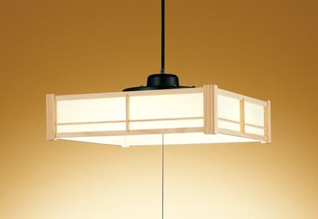 【最安値挑戦中!最大25倍】オーデリック OP252542L 和風ペンダントライト LED一体型 段調光 電球色 ~6畳