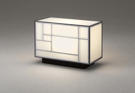 【最安値挑戦中!最大25倍】オーデリック OT265023LD(ランプ別梱包) 和風スタンドライト LEDランプ 非調光 電球色 中間スイッチ付 コード1.5m付 白木 黒
