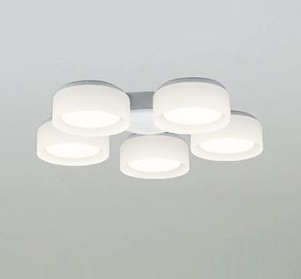 【最安値挑戦中!最大25倍】照明器具 オーデリック WF065LD シーリングファン 灯具(乳白ケシガラス・5灯) LED電球フラット形 電球色 ~6畳