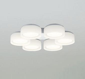 【最安値挑戦中!最大25倍】照明器具 オーデリック WF066LD シーリングファン 灯具(乳白ケシガラス・6灯) LED電球フラット形 電球色 ~8畳