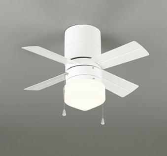 【最安値挑戦中!最大25倍】照明器具 オーデリック WF255LD シーリングファン 器具本体(灯具一体型) LED ミニクリプトン形 電球色