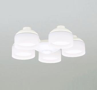 【最安値挑戦中!最大25倍】オーデリック WF265NC(ランプ別梱包) シーリングファン 灯具(乳白ケシガラス・5灯) LED電球フラット形 昼白色 ~6畳
