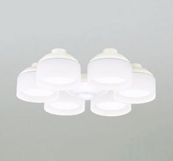 【最安値挑戦中!最大25倍】オーデリック WF266NC(ランプ別梱包) シーリングファン 灯具(乳白ケシガラス・6灯) LED電球フラット形 昼白色 ~8畳