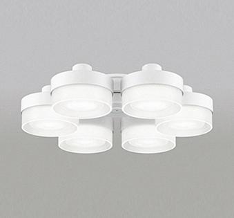 【最安値挑戦中!最大25倍】オーデリック WF267NC(ランプ別梱包) シーリングファン 灯具(薄型ガラスタイプ・6灯) LED電球フラット形 昼白色 ~8畳