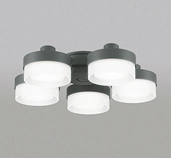 【最安値挑戦中!最大25倍】オーデリック WF270NC(ランプ別梱包) シーリングファン 灯具(薄型ガラスタイプ・5灯) LED電球フラット形 昼白色 ~6畳