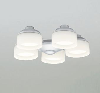 【最安値挑戦中!最大25倍】オーデリック WF275PC(ランプ別梱包) シーリングファン 灯具(乳白ケシガラス・5灯) LED電球フラット形 光色切替 ~8畳