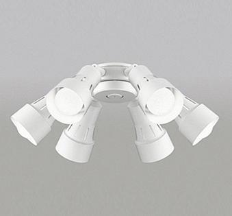 【最安値挑戦中!最大25倍】オーデリック WF277NC(ランプ別梱包) シーリングファン 灯具(可動型スポットタイプ・6灯) LED電球一般形 昼白色 ~8畳