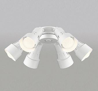 【最安値挑戦中!最大25倍】オーデリック WF277PC(ランプ別梱包) シーリングファン 灯具(可動型スポットタイプ・6灯) LED電球一般形 光色切替 ~8畳