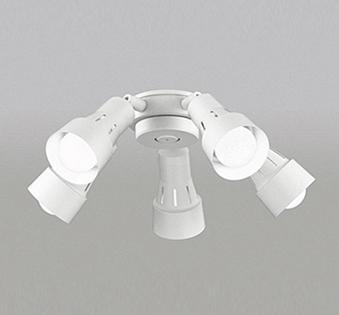 【最安値挑戦中!最大25倍】オーデリック WF278NC(ランプ別梱包) シーリングファン 灯具(可動型スポットタイプ・5灯) LED電球一般形 昼白色 ~6畳
